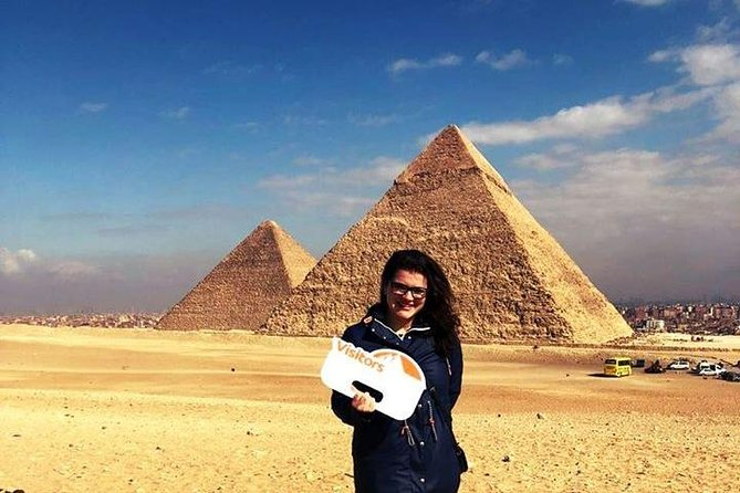 Pyramids and Egyptian Museum Private Day Tour