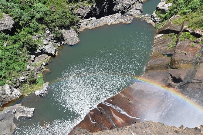 View from the 55m waterfall