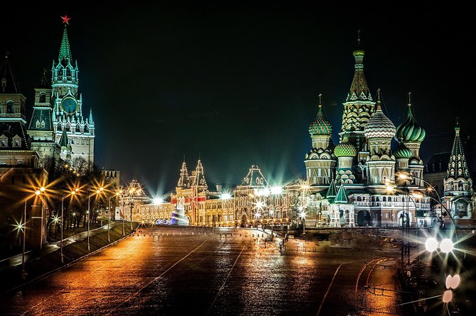Mystical night tour of Moscow