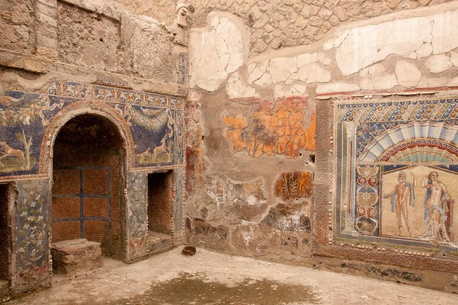 Transfer to the Archaeological Park of Herculaneum