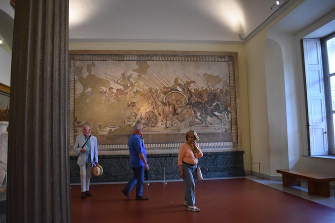 Pompeii Ruins and Naples Archaeological Museum Private Tour from Naples