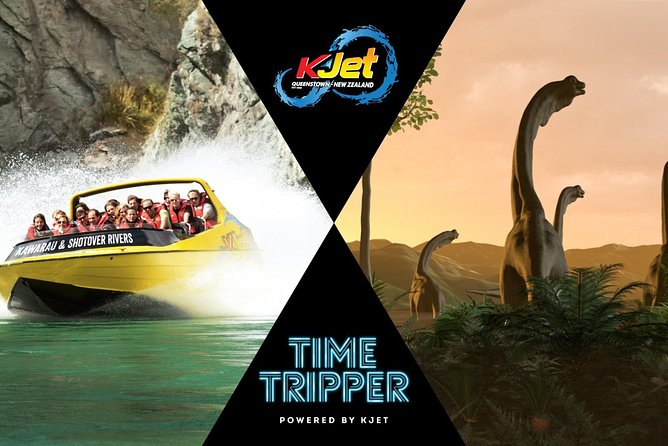 Queenstown Jet Boat Trip & Time Tripper Combo (April - Sept)