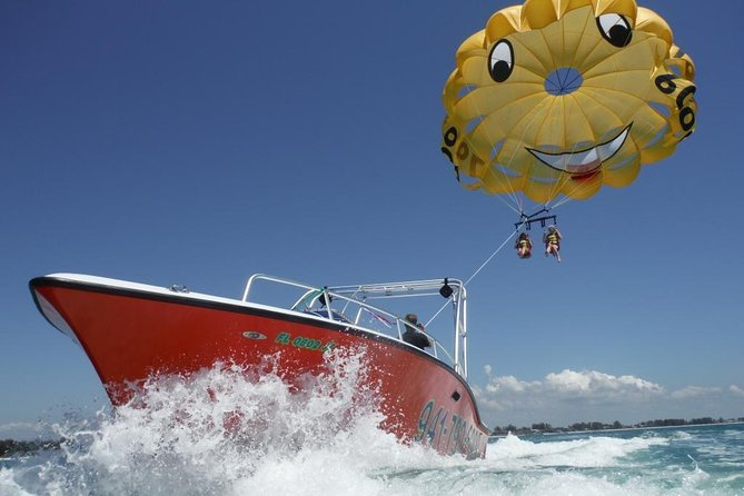 Afternoon Parasailing Adventure above the Gulf of Mexico