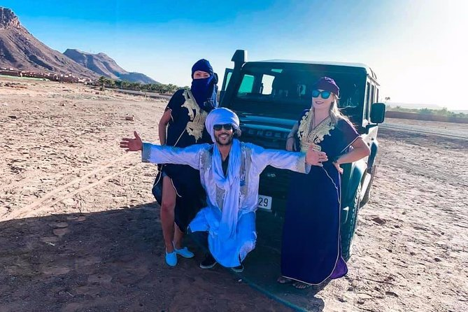 3 Days Private Tour from Fes to Marrakech with overnight in a Sahara Desert Camp