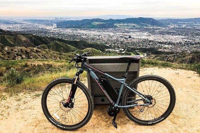 Electric Bike Ride through the Verdugo Mountains