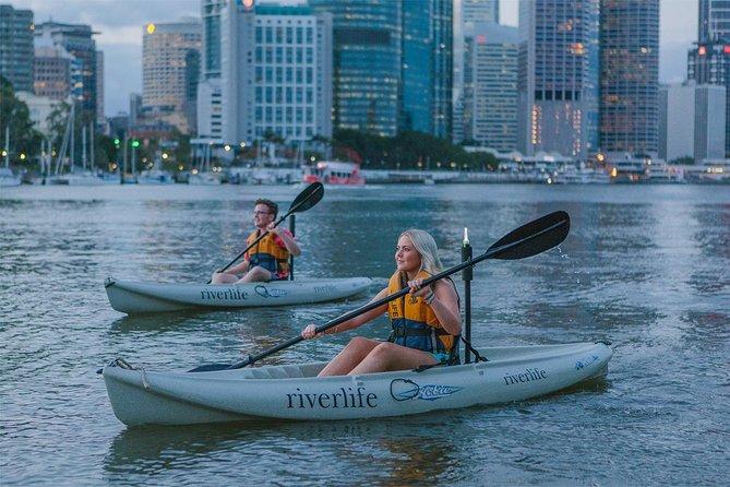 Brisbane City Twilight Kayak