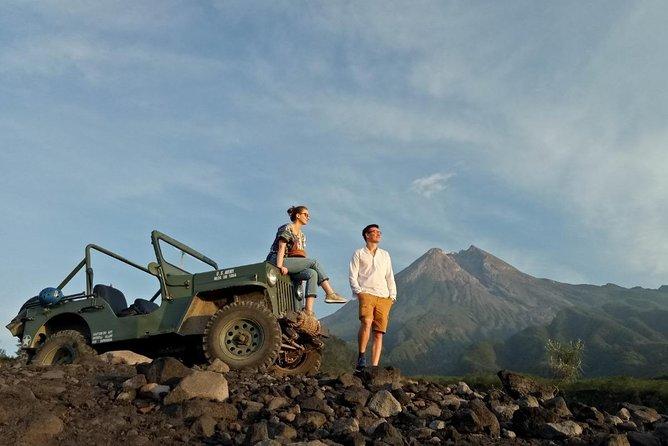 Yogyakarta Join Jeep Tour: Mount Merapi Golden Sunrise, Borobudur, Mendut Temple