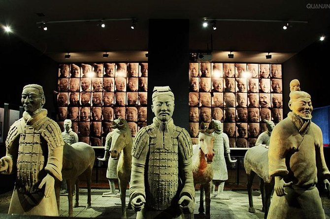 Xian One Day Terracotta Warriors and Horses, Banpo Site and Wild Goose Pagoda