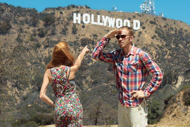 Viagem privada de um dia com 7 horas de duração em Los Angeles e Hollywood.