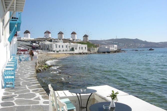 Excursão privada a Pequena Veneza, Praia de Kalafati e Mosteiro Panagia Tourliani