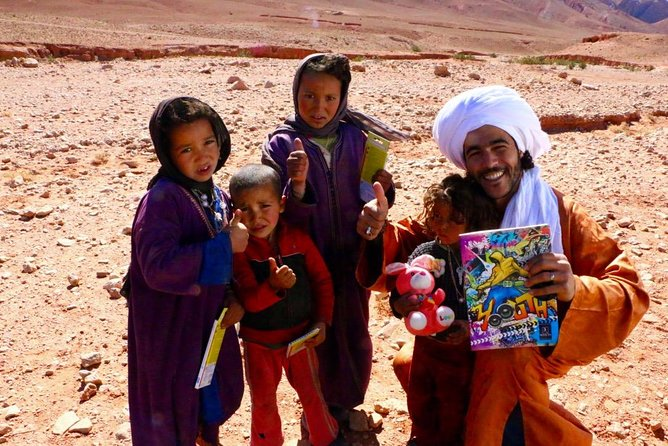 Private Full-Day from Ouarzazate to Draa Valley and Zagora Desert with Lunch