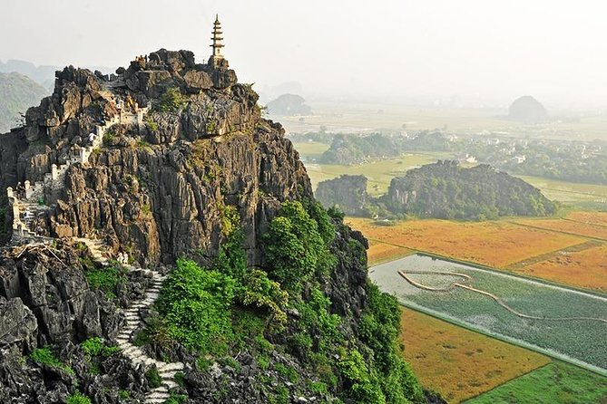 Private tour - Ninh Binh-Tam Coc-Mua Cave-Bich Dong Pagoda 2 Day Tour from Hanoi