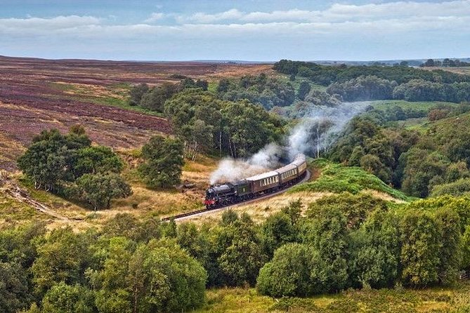 Private Tour - Moors, Whitby & Yorkshire Steam Railway Day Trip from Harrogate