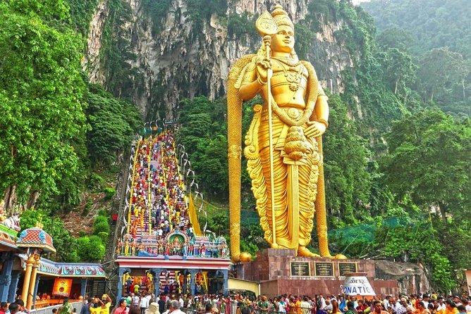 【Private Tour】Kuala Lumpur Suburbs and Batu Caves Half day Tour