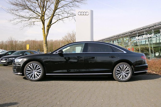 Audi A8 Chauffeur Car Melbourne Airport To CBD