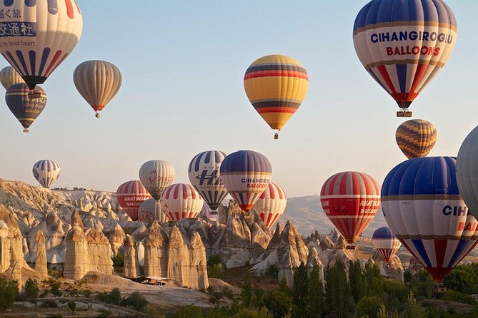 Cappadocia Hot Air Balloon Tour with One night cave hotel stay