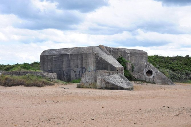Private 8/9 hour tour to British landing beaches from Le Havre with driver/guide