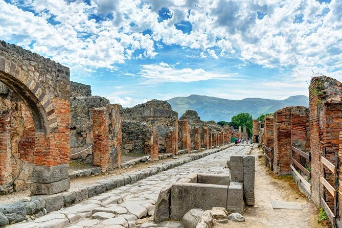 Day Trip from Salerno: Pompeii and Sorrento - private tour