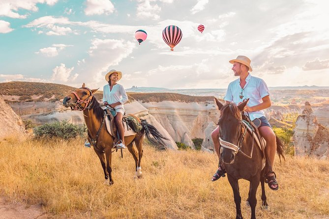 2-Hour Horse Ride in Cappadocia with Hotel Pickup