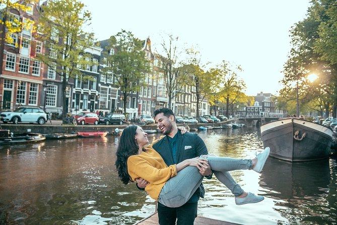 Amsterdam Professional Photoshoot and Fun Walking Tour