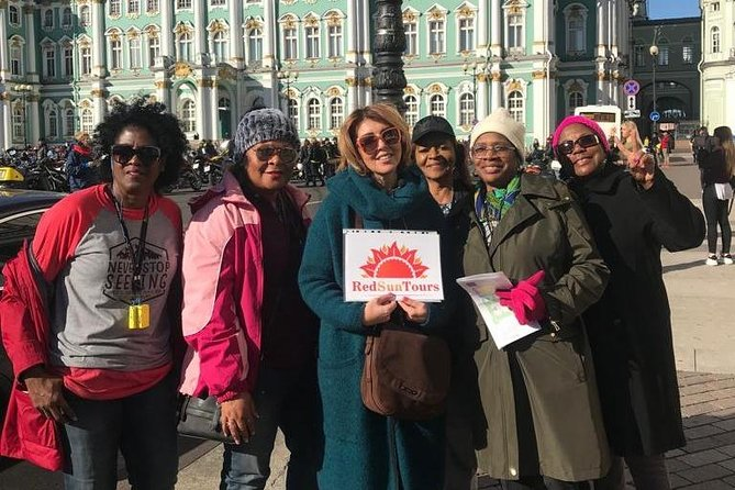 St Petersburg 3 Hour Walking Tour with a Local Expert Guide