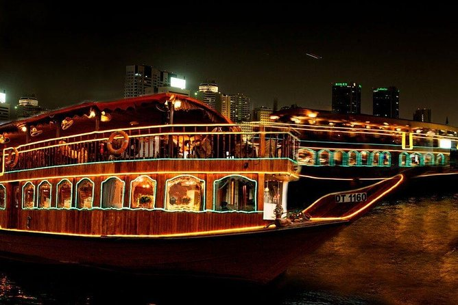 Dubai 2 hours Dhow Cruise with Dinner and Entertainment
