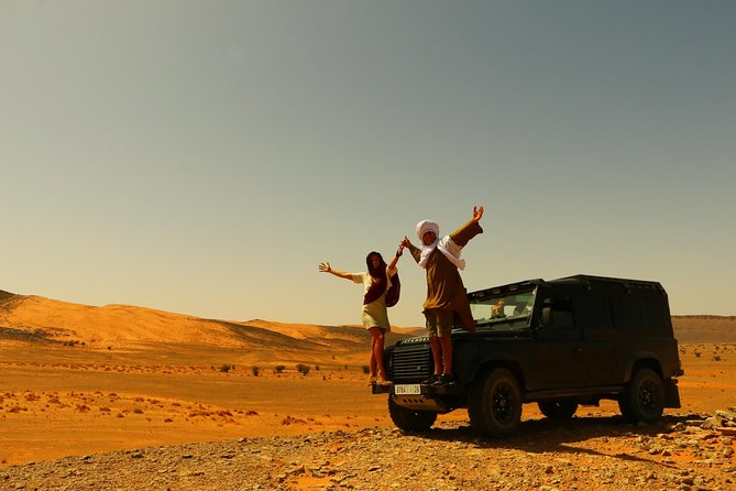 3 Days Private Tour from Fes to Marrakech with Luxury Desert Camp