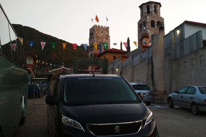 Transfer services from Thessaloniki to Ouranoupoli (Agion Oros)