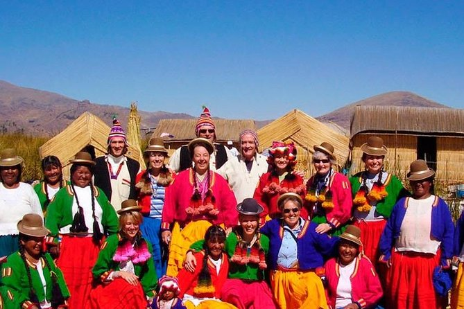 Tour to Uros Island and Taquile by Speed Boat