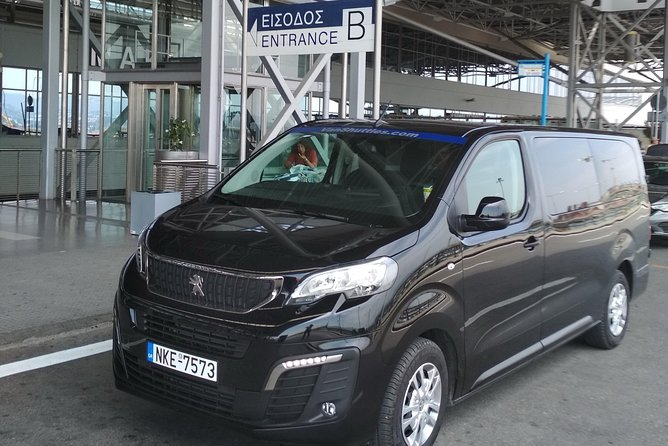 Transfer services from Thessaloniki to Marmaras Halkidiki up to 8 passengers