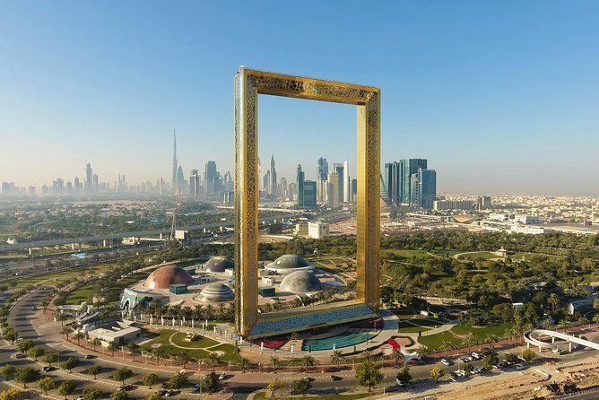 Dubai Frame with entry tickets and pick up return transfers