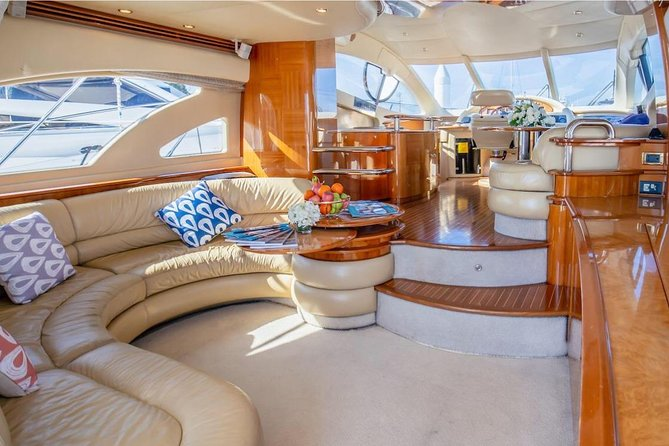 Full Day Private Charter to Phi Phi Island by Azimut 55 Yacht (Maximum 8 pax)