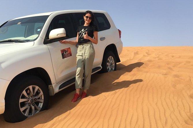 Abdu Dhabi morning desert safari - Private car