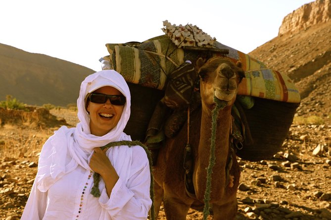 From Ouarzazate: 6 Days Private Camel Trekking with Berber family