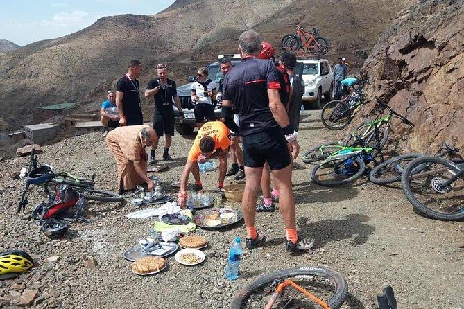 Mountain bike circuit in Morocco