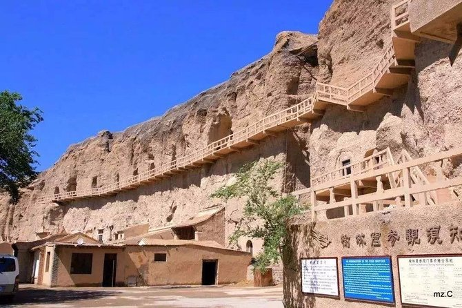 Dunhuang Private Transfer to Yulin Grotto and Western Thousand Buddha Caves