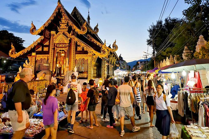 "Private Tour: Chiang Mai Evening ""Street Food"" Walking Tour"