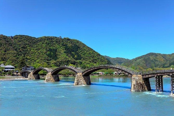 Iwakuni 1-Day Tour to Enjoy One of Japan's Three Excellent Bridges and Sake