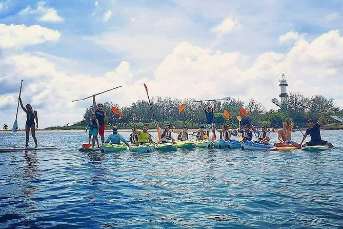 Kayak trip to Sacrifice Island