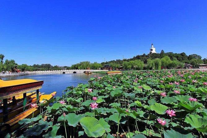 Private Beihai Park boating JingShan Park Sunset Evening Mongolian hot pot Tour