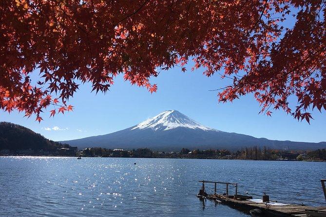 Mt Fuji Viewing,Kawaguchiko, Arakurayama and Lake Yamanaka Small Group Tour