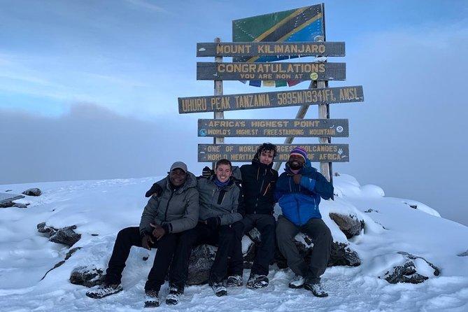 7 Days Kilimanjaro Hiking through Lemosho Route