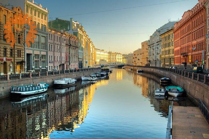 City Walking Tour in St Petersburg