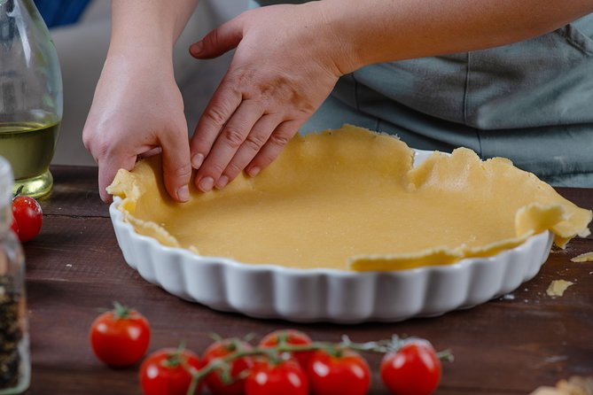 Quiche Hands on Cooking Class with a local
