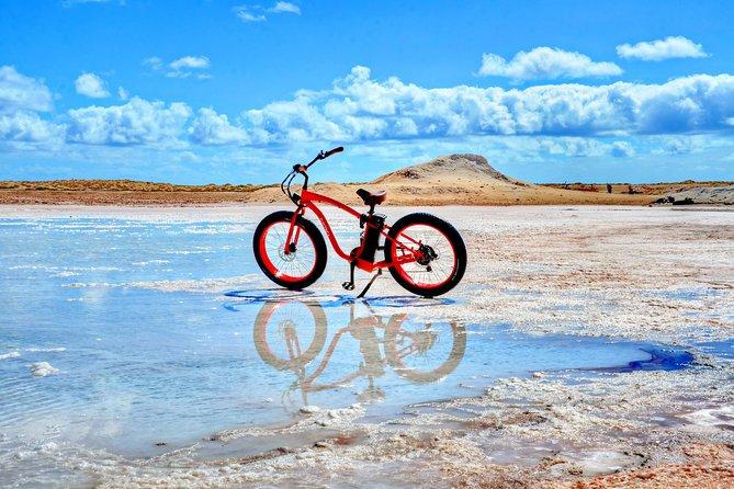 Electric Beach Bike All Terrain Guided Tour in Sal