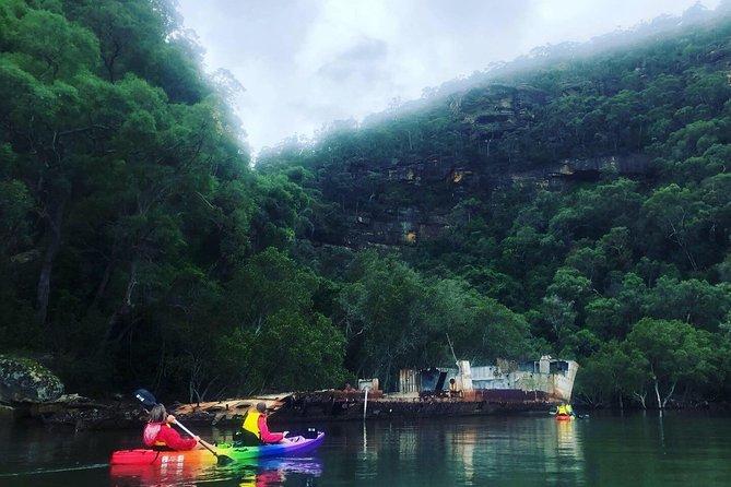 5 day Kayak Adventure down Hawkesbury River