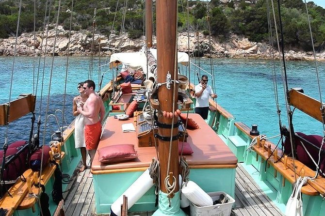 Cagliari: South West Wooden Boat Tour from Chia