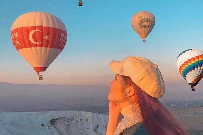 Pamukkale Hot Air Balloon Tours