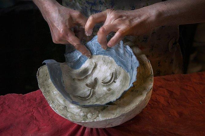 Create your own papier-mâché Venetian mask