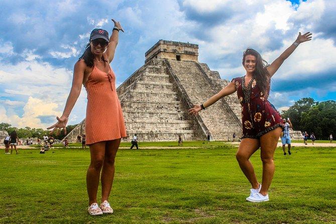 Chichen Itza Suytun Cenote and Valladolid City Tour
